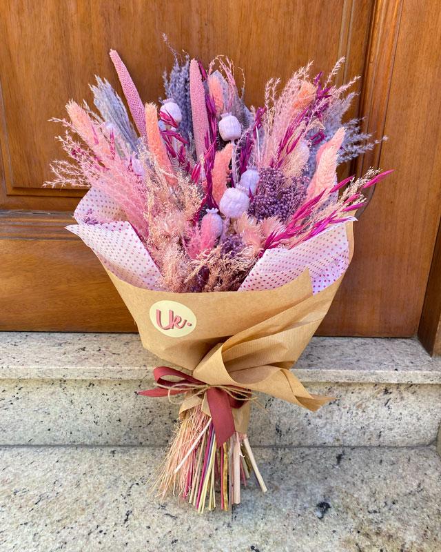 Ramo de flores preservadas Pink my soul - Loreak