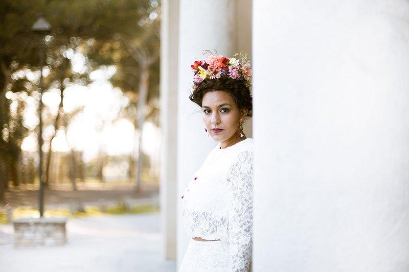 Frida Kahlo - Loreak & Anniedelapaz