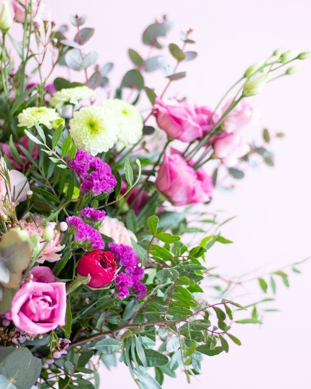 Candy Clouds, ramo de flor natural - Loreak