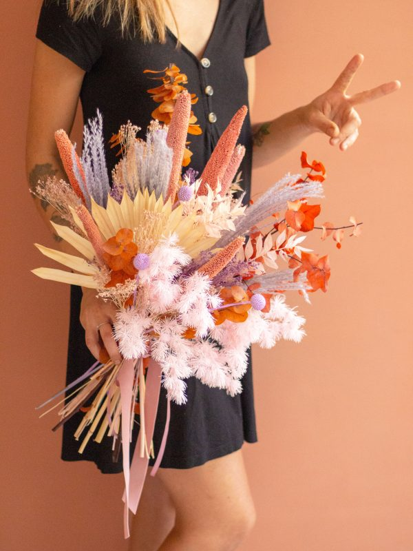 Autumn, Ramo de flores secas y preservadas otoñal | Loreak