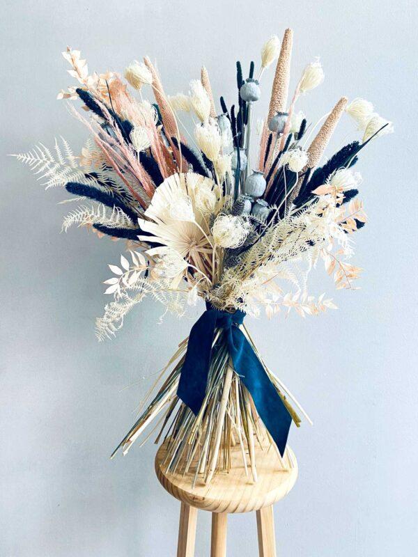 Ramo de flores secas y preservadas Blue Moon | Loreak